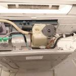 東芝製洗濯機 AW-70DF のポンプ交換