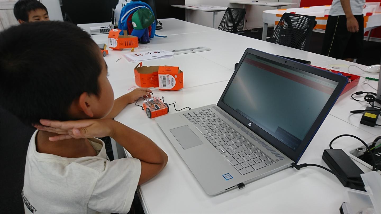 親子ロボットプログラミング教室にいってきたよ