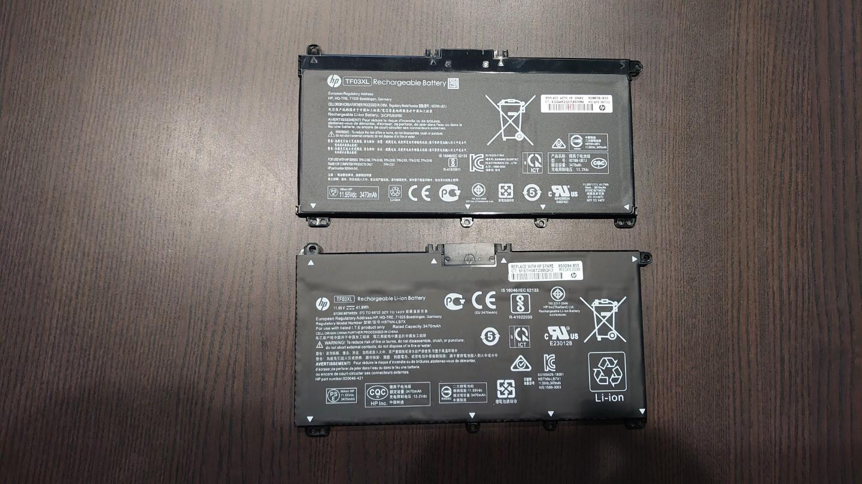 続 HP Pavilion 15-CC103TUのバッテリー交換